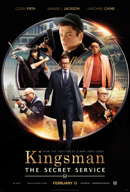 1. Kingsman - The Secret Service (2014)