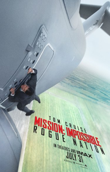 10. Scene in Mission Impossible - Rogue Nation