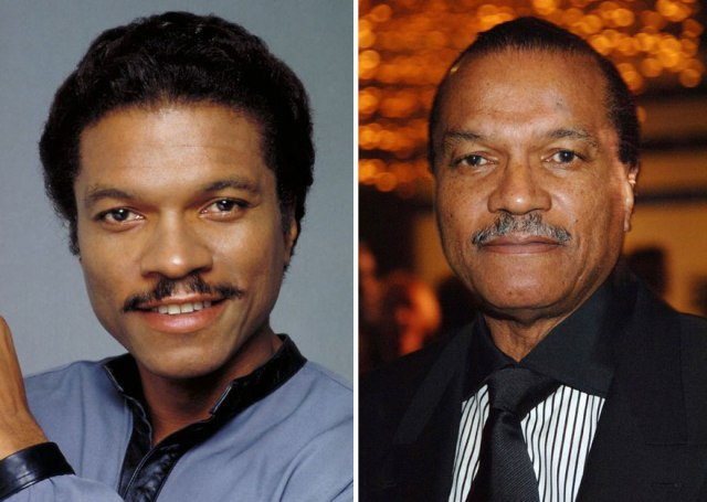 Billy Dee Williams sebagai Lando Calrissian, 1980 dan 2014